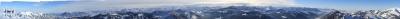 Panorama Grünten bis Säntis