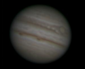 """Jupiter, Meade LX200 12"""", 2x-Barlow, SPC900NC"""