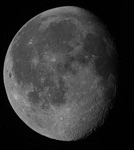 Mond am 15.11.2011