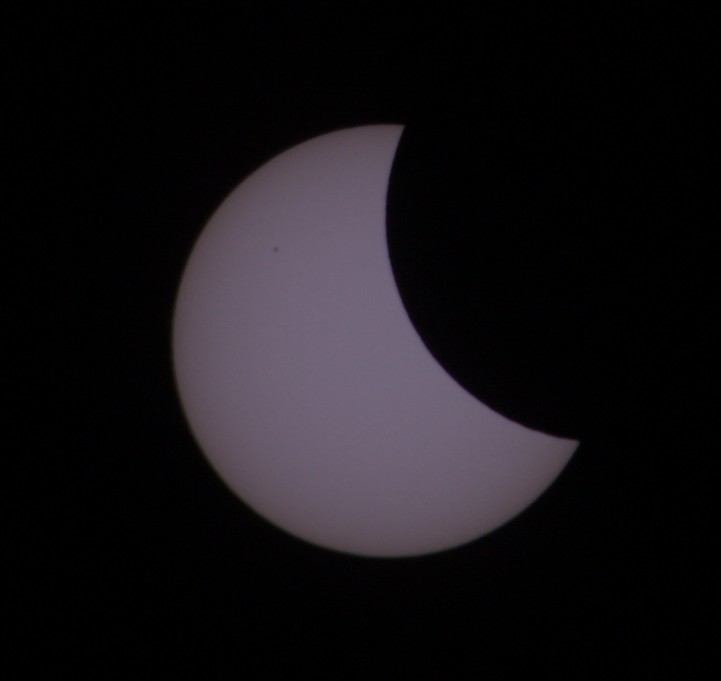 Solar eclipse, 2015-03-20, Regensburg, Germany