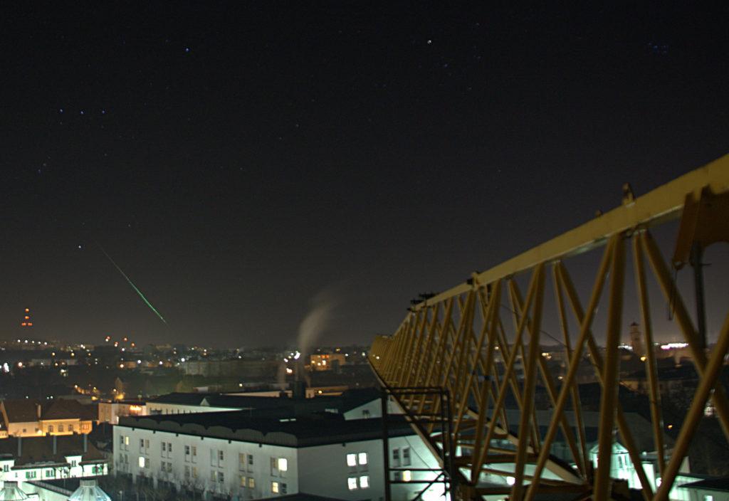 Meteor over Regensburg